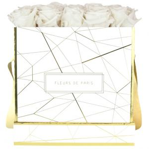 Art Déco Collection Ivory Large white - square