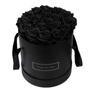 Infinity Collection Black Beauty Large black - round