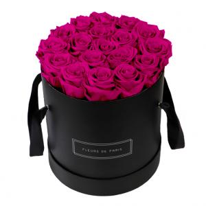 Infinity Collection Hot Pink Large black - round
