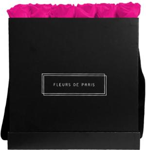 Infinity Collection Hot Pink Luxe black - square