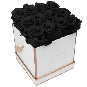 The Rosé Gold Collection Black Beauty Medium white - square