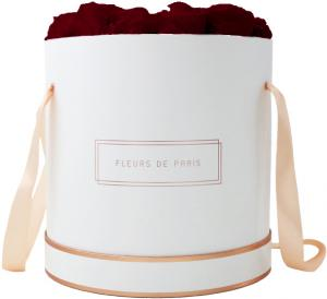 The Rosé Gold Collection Burgundy Petit Luxe white - round