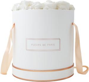 The Rosé Gold Collection Ivory Petit Luxe white - round