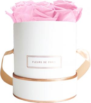 The Rosé Gold Collection Bridal Pink Small white - round
