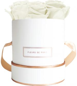 The Rosé Gold Collection Ivory Small white - round