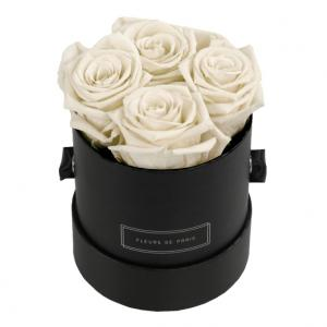 Infinity Collection Ivory Small black - round